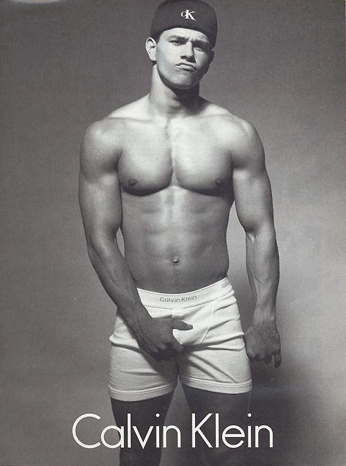 Calvin Klein's Mark Wahlberg.