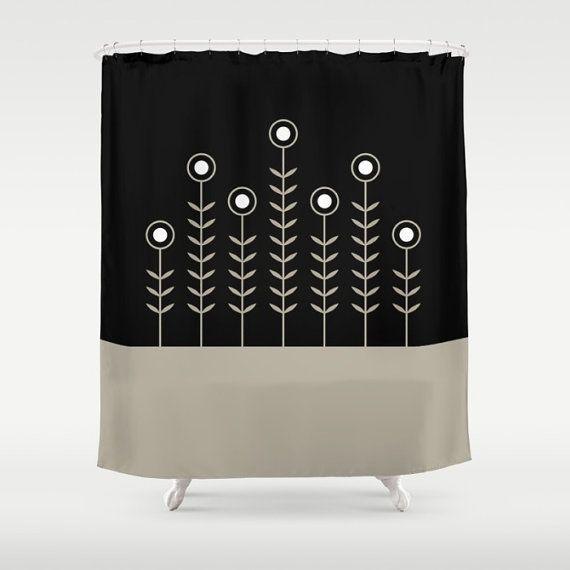27 colours Spring Shoots Shower Curtain Scandinavian style