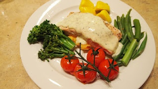 Delicious and Fast - Thermomix Salmon Dinner
