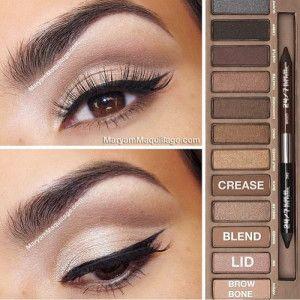 Make-Up Tips for Brown Eyes | herinterest.com