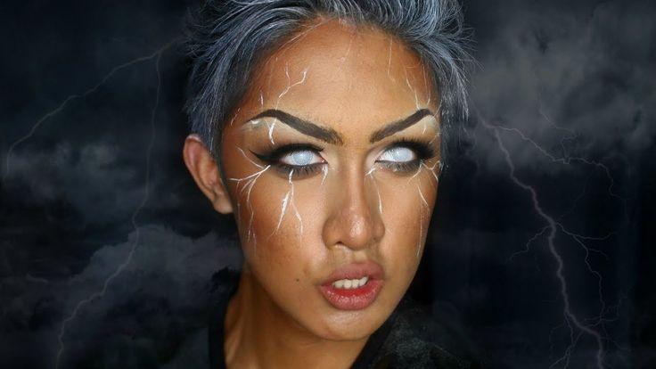 STORM (X-MEN) Makeup Tutorial - YouTube