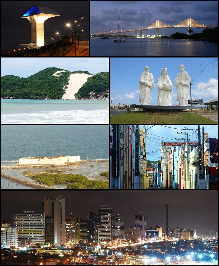 Natal, capital do estado do Rio Grande do Norte
