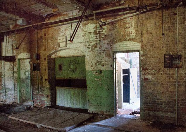 Spooky sc newry mill in oconee county south carolina for Home builders in oconee county sc