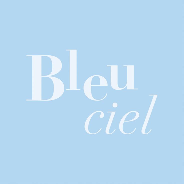 Bleu ciel ~ Sky blue