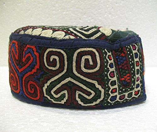 Antique turkoman super fine embroidery hat turkish beret ... http://www.amazon.com/dp/B01F01NXWA/ref=cm_sw_r_pi_dp_eXnjxb0V90BV2
