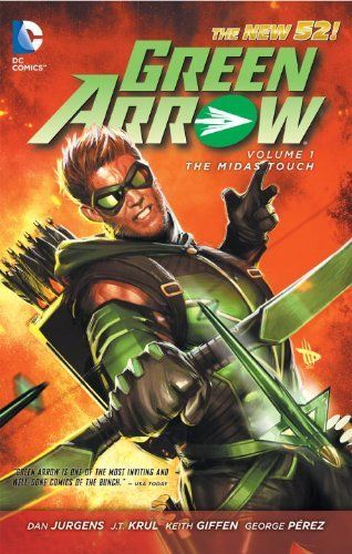 Green Arrow Vol. 1: The Midas Touch (The New 52) by J.T. Krul. $10.19. Publisher: DC Comics; First Edition edition (June 5, 2012). Series - Green Arrow (Book 1). Save 32%!