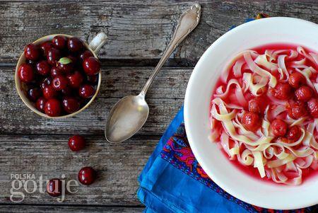 zupa owocowa z wiśni