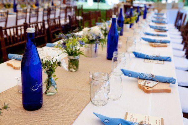 Classy Barbecue Wedding Reception