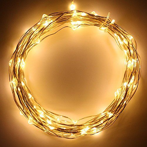 33ft (10m) 100LEDs Fairy USB LED Wire String Lights - USB Powered Starry Starry Lights (Warm White) for Festival, Christmas, Holiday, Wedding and Party (Waterproof) THL-10 TORCHSTAR http://www.amazon.com/dp/B00JTNNQFK/ref=cm_sw_r_pi_dp_EfPAub1K3XQ9C
