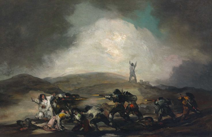 Francisco Goya: A Scene from the Spanish War of Independence, 1808
