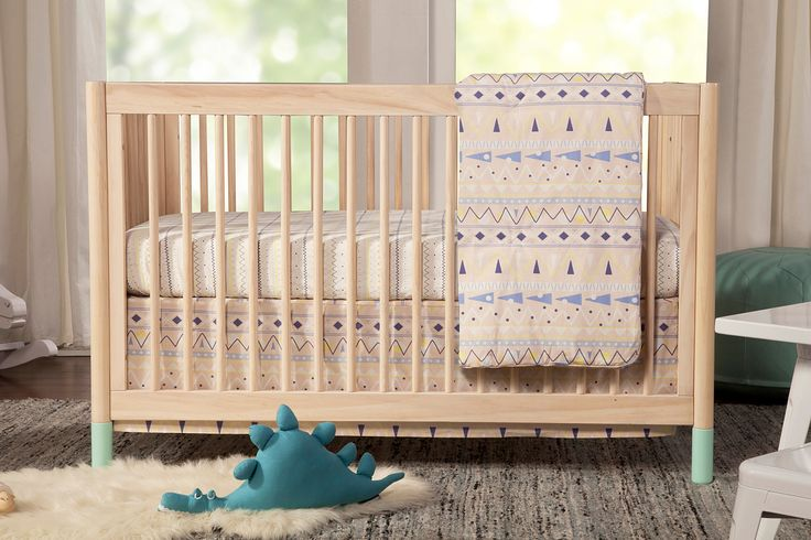 Gelato 4-in-1 Convertible Crib with toddler rail   Babyletto