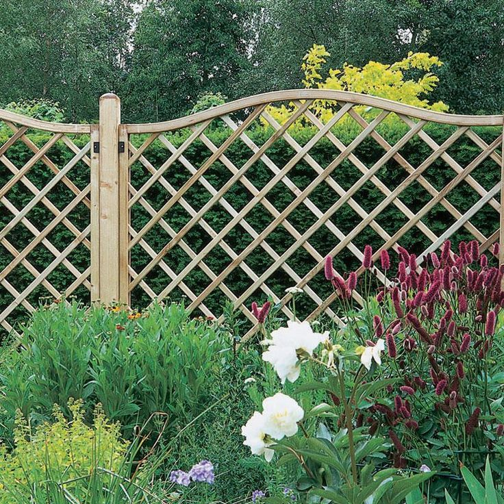 DECORATIVE GARDEN FENCE PANELS | FENCES