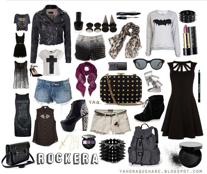 moda tipo rock