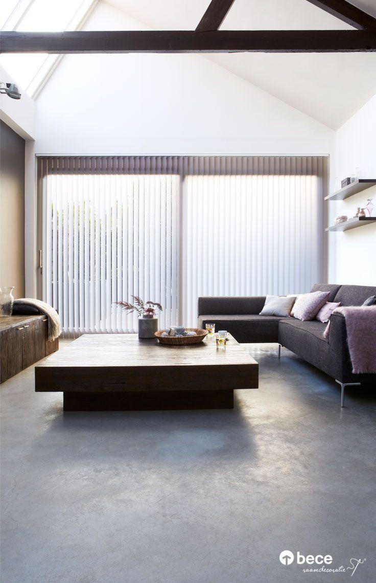 #Verticale jaloezie #bece #raamdecoratie www.kokwonenenlifestyle.nl