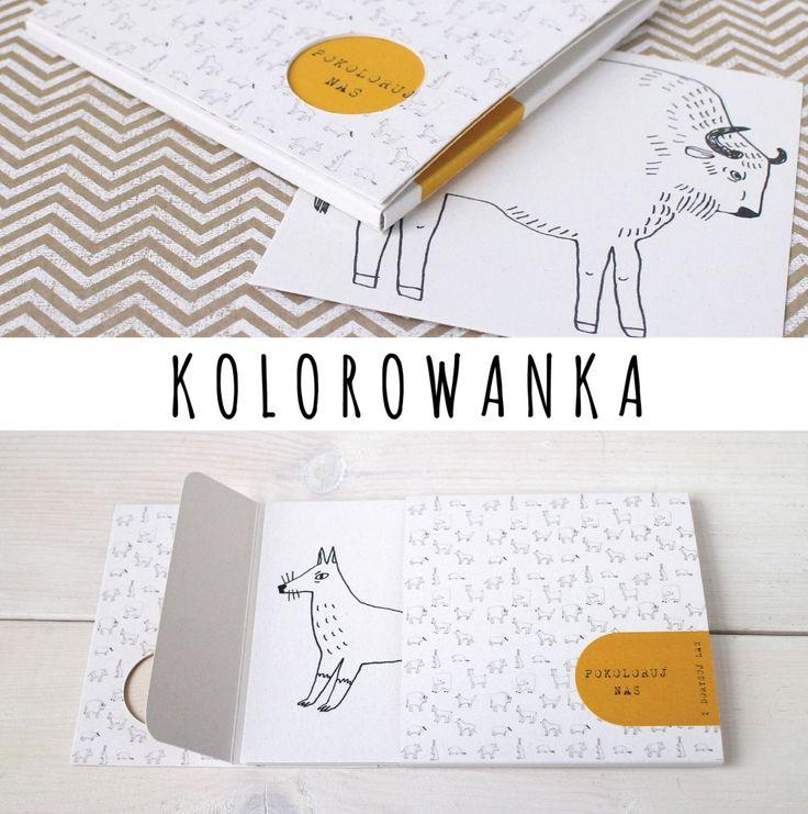 packshot kolorowanka