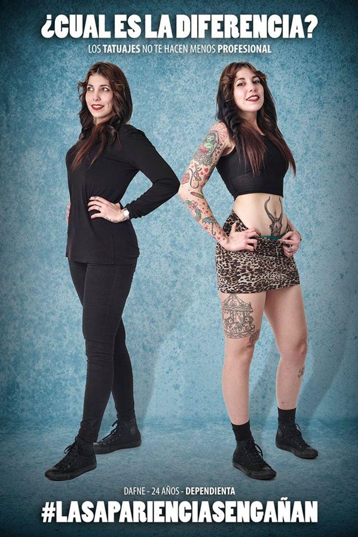 LAS APARIENCIAS ENGAÑAN: Proyecto Fotográfico que Pretende Eliminar el Prejuicio Hacia la Gente con Tatuajes   FuriaMag   Arts Magazine