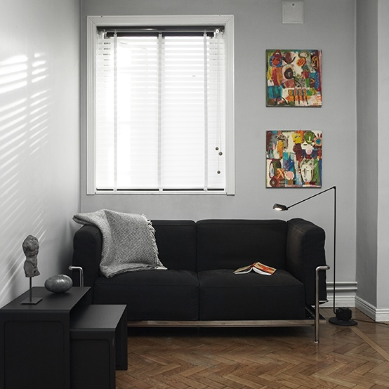 ann idstein® | Venetian Blinds - Transparent | Private residence