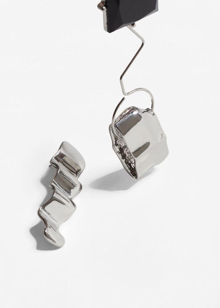 Σκουλαρίκια ασύμμετρα | MANGO ΜΑΝΓΚΟ