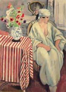 Henri Matisse, Méditation – Après le bain, 1920, Olio su tela, 73 x 54 cm, © Succesion H. Matisse by SIAE 2012