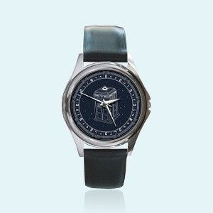 New Round Metal Watch Doctor Who Tardis Stargate Birthday... | Shop entertainment| Kaboodle