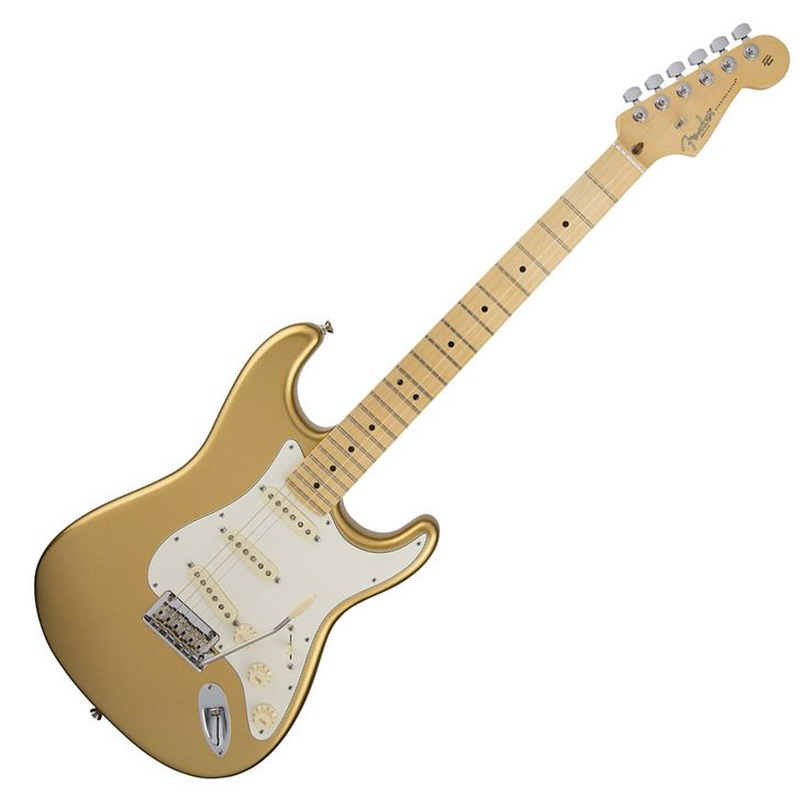 Fender Limited Edition American Standard Stratocaster with Maple Fingerboard - Mystic Aztec Gold