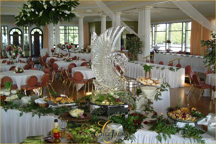 How To Decorate A Buffet: Image Decorating Buffet Tables
