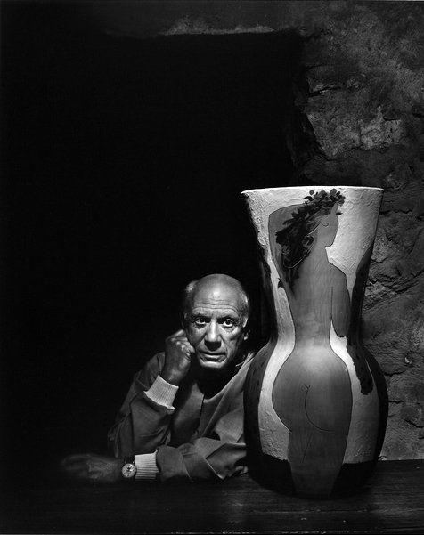 hoodoothatvoodoo:   Pablo Picasso by Yousuf Karsh, 1960s