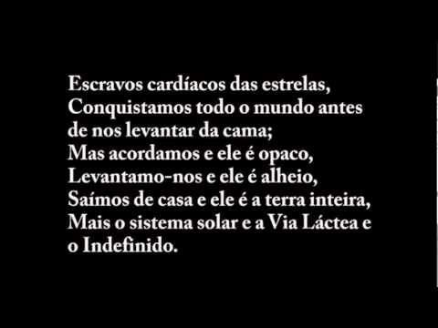 Tabacaria — Fernando Pessoa (sob o heterônimo Álvaro de Campos ) - YouTube
