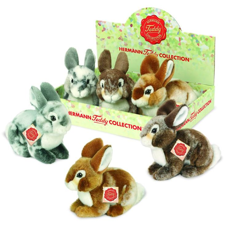 Conejos de peluche Hermann Teddy Collection