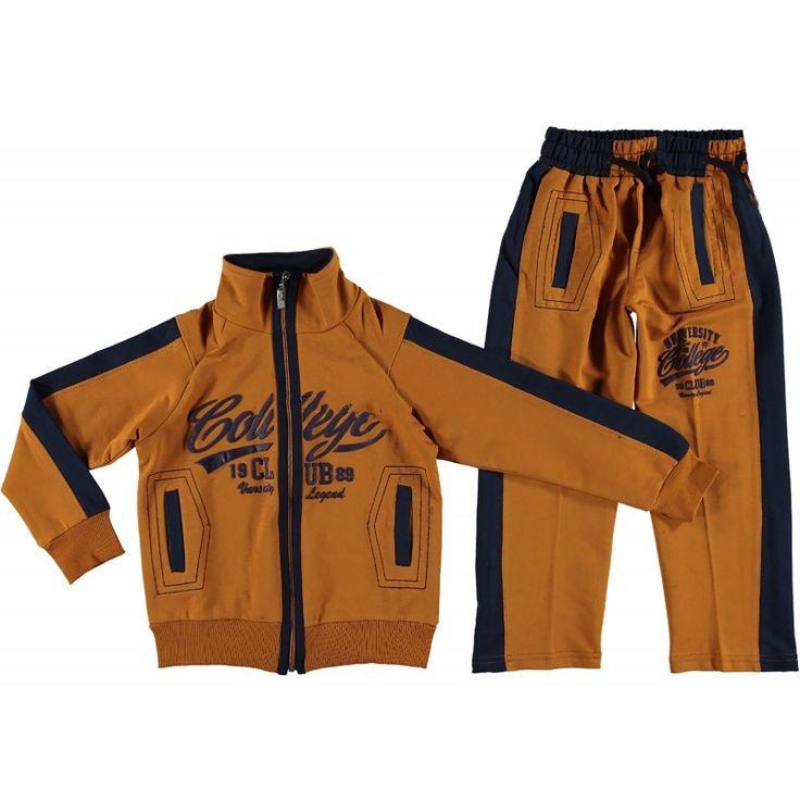 Спортивный костюм желтый для мальчиков Babexi