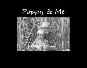 "Poppy & Me 4""x6"" Photo Frame"