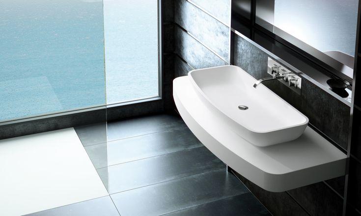 Simpele Badkamer Ideeen ~   badkamer #wastafel  Wastafels badkamer idee?n & voorbeelden