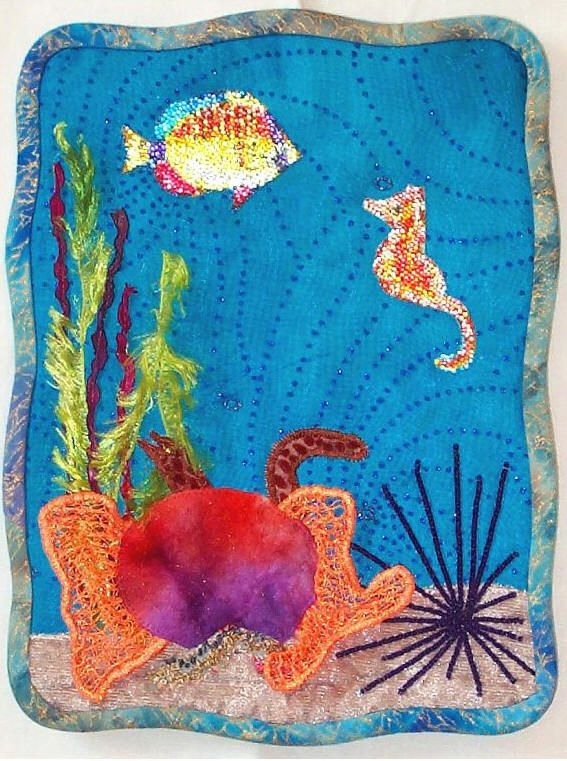 Classroom Ideas Grade 6 ~ Coral reef art project school pinterest crafts