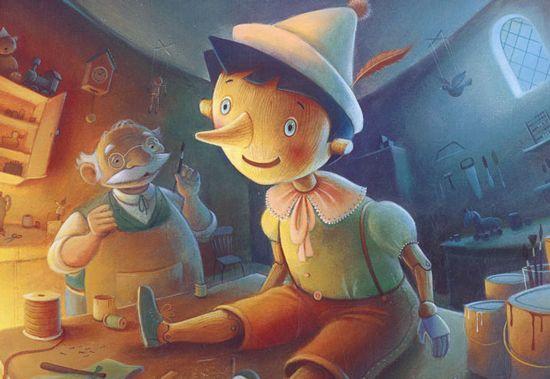 Pinocho | Cuentos infantiles. Cuentos para niños. Cuentos clásicos infantiles.
