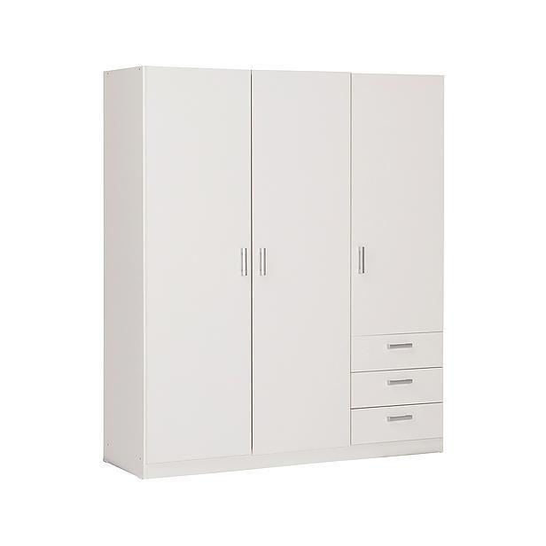 Valencia 3-deurs kledingkast? Bestel nu bij wehkamp.nl
