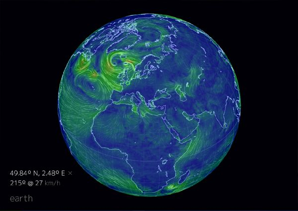 Wind currents, interactive globe : >>>>See blog<<<<<<