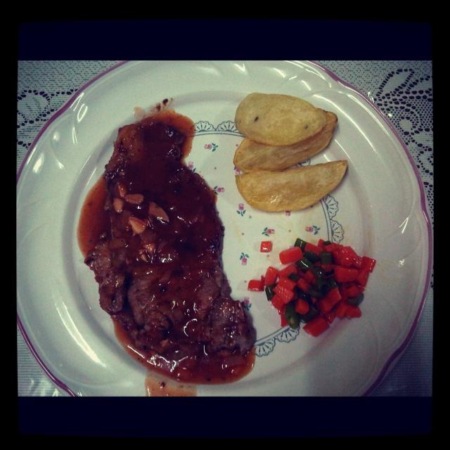 BBQ Sirloin Steak made by me 