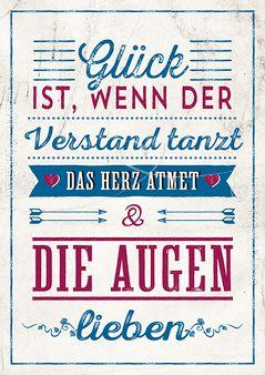 Glück - Postkarten - Grafik Werkstatt Bielefeld