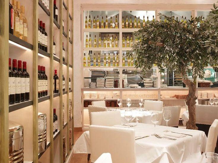 Luxury modern mediterranean restaurant interior design fig