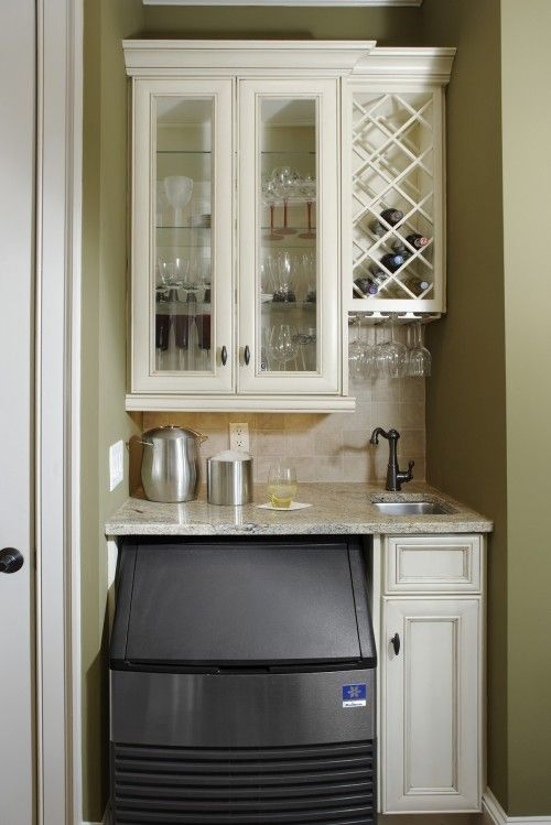 just what i want but would sub in a mini fridge.  lots packed into a small space- great planning
