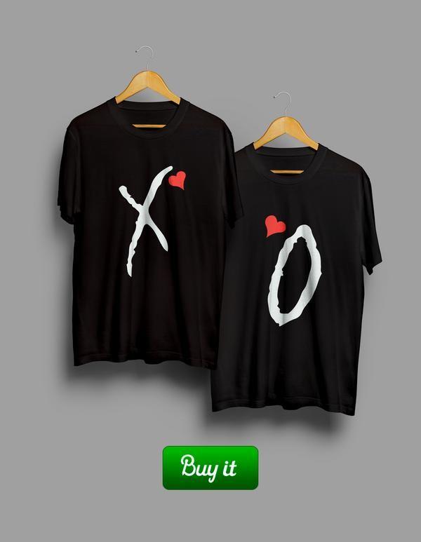 Для тех, кто со всей силы хочет показать свою любовь и преданность. Но при этом не ударить в торт лицом и остаться модным. #together #love #couple #husband #wife #forever #heart #любовь #XO #Tshirt