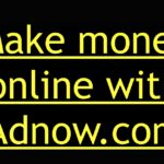 Adnow advertisements review | Earn money from your blog