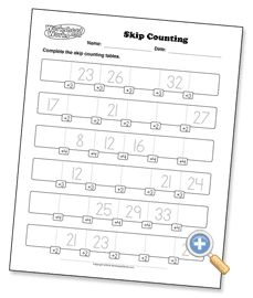 Skip Counting - WorksheetWorks.com