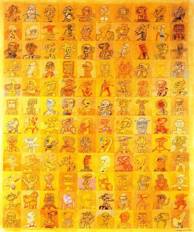 ALFONSO FRAILE. 120 personajes nº 6. 1977.