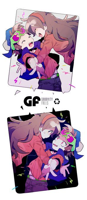 MaBill | Bill Cipher \ Mabel Pines | Gravity Falls | VK
