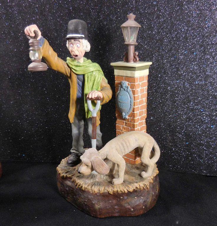 Details about DISNEYLAND Haunted Mansion Caretaker & Dog ...