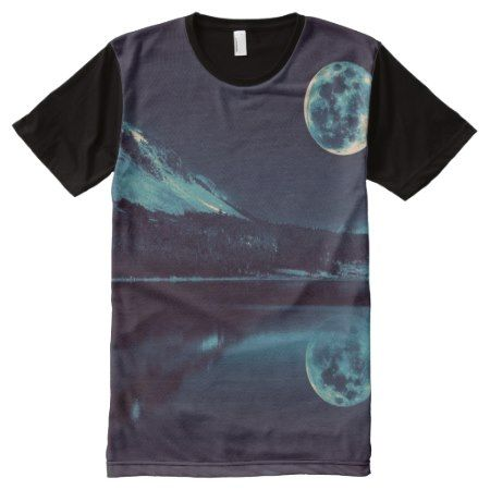 cool natural night scenes All-Over-Print T-Shirt - tap, personalize, buy right now!
