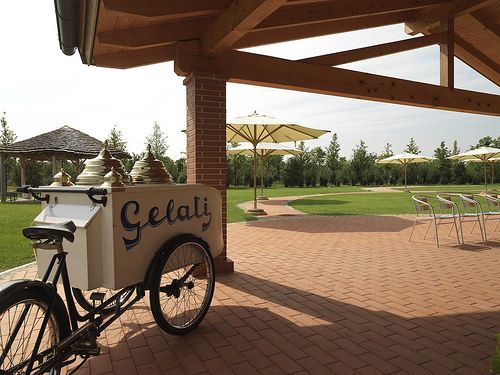 Che ne direste di un bel #gelato in #giardino? Corte all'Olmo - #Verona #Fattoria Didattica
