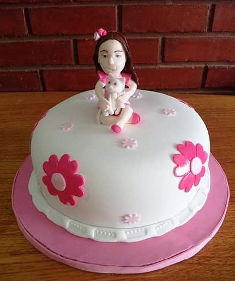 #LittleGirl #Cat #Cute #Fondat #Cake by Volován Productos #Puq #instapuq #Chile #InstaChile #Caketagram #VolovanProductos