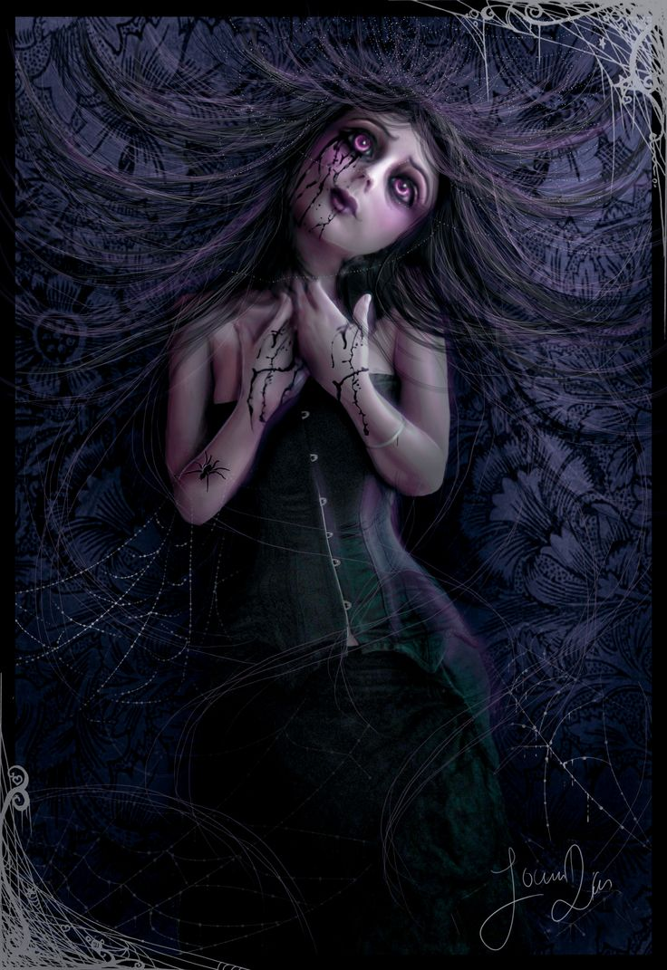 Pinterest the world s catalog of ideas for Gothic painting ideas